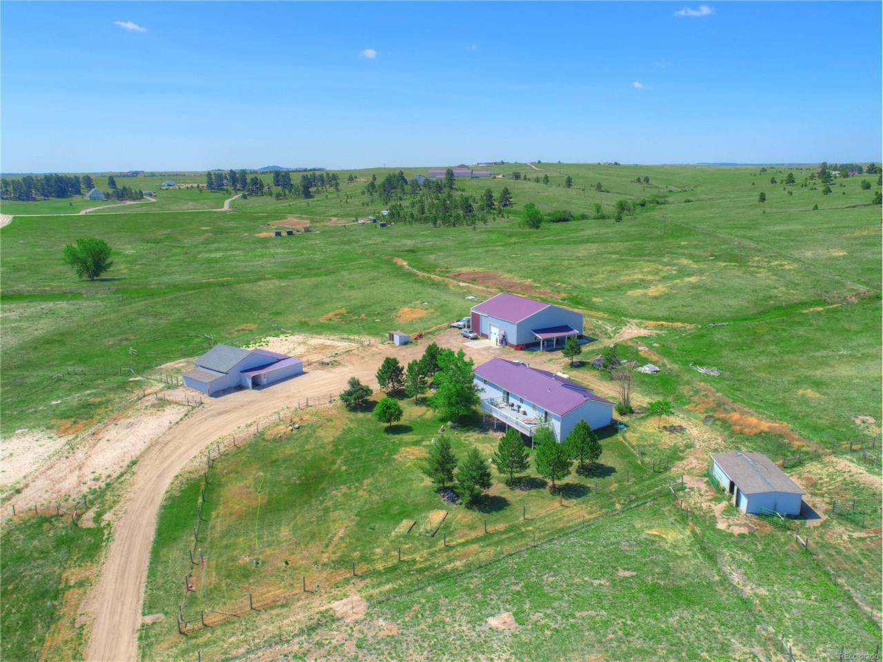 10326 County Road 110, Kiowa, CO 80117 (MLS #7367429) :: 8z Real Estate