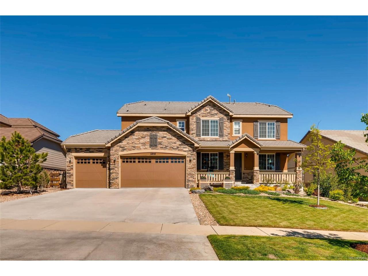 6858 S Duquesne Court, Aurora, CO 80016 (MLS #7393948) :: 8z Real Estate