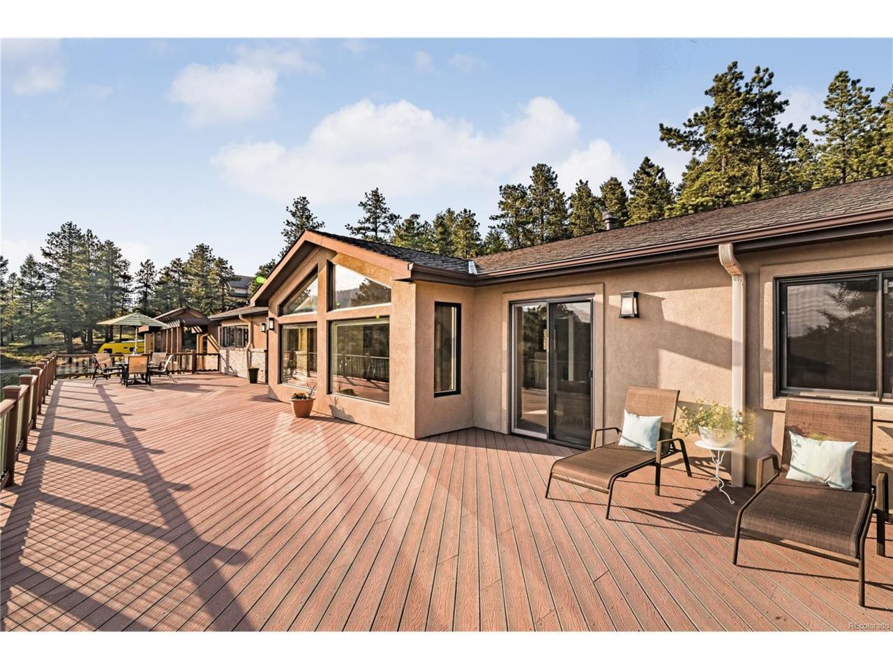 11332 Belle Meade Drive, Conifer, CO 80433 (MLS #7408489) :: 8z Real Estate