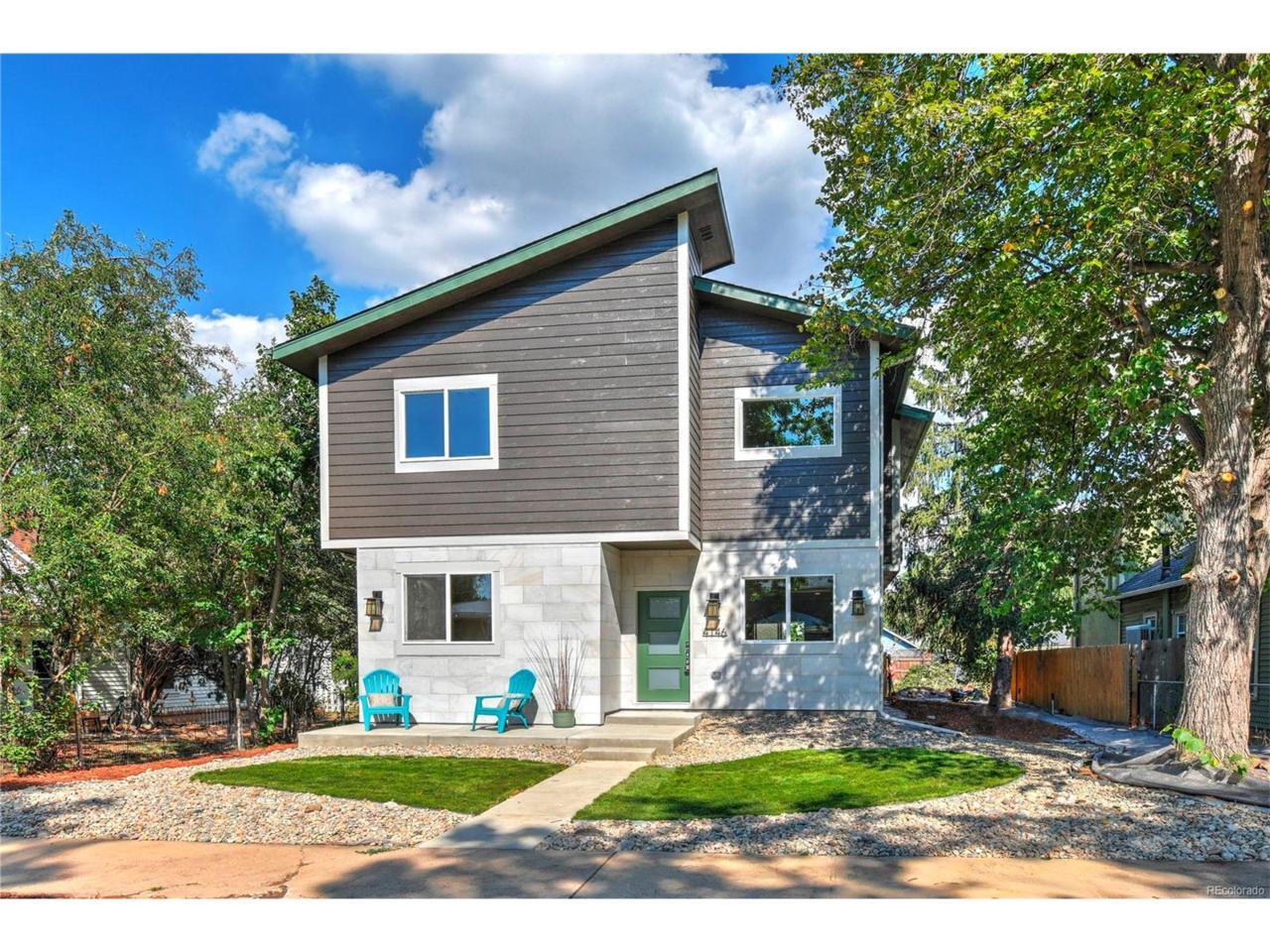 4146 Benton Street, Denver, CO 80212 (MLS #7428433) :: 8z Real Estate