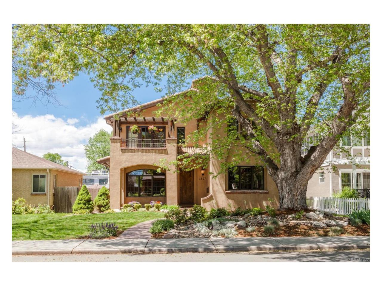 1327 S Saint Paul Street, Denver, CO 80210 (MLS #7434958) :: 8z Real Estate