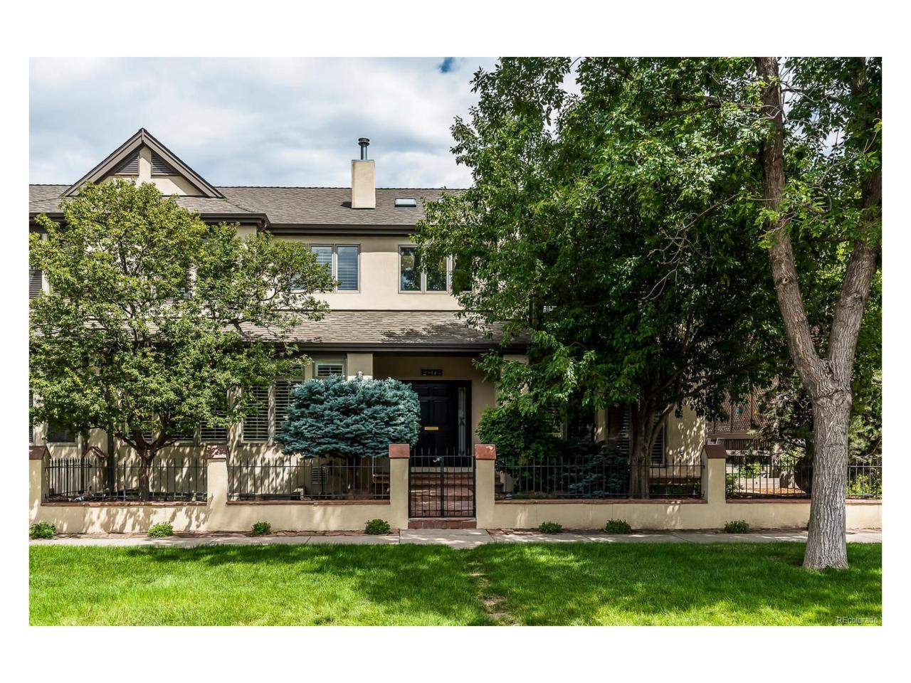 2805 E 4th Avenue, Denver, CO 80206 (#7437972) :: Thrive Real Estate Group