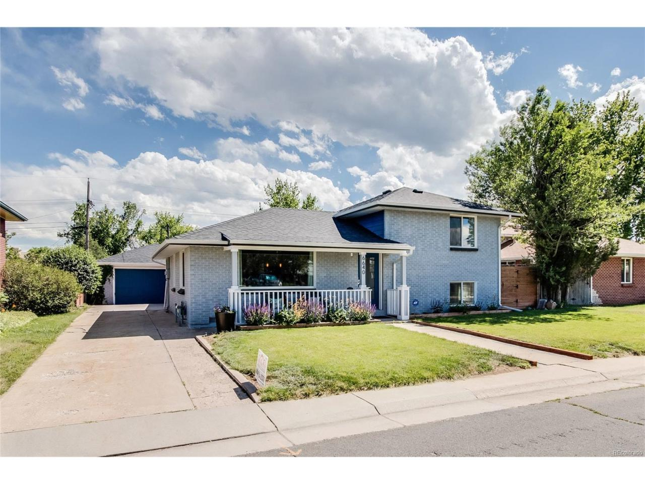6640 W 54th Place, Arvada, CO 80002 (MLS #7496422) :: 8z Real Estate
