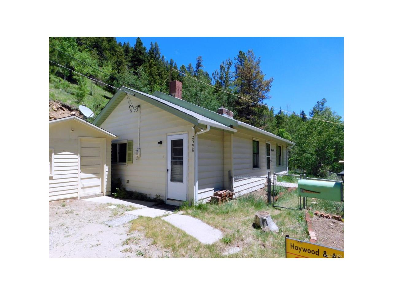 2598 Mill Creek Road, Dumont, CO 80436 (MLS #7594649) :: 8z Real Estate
