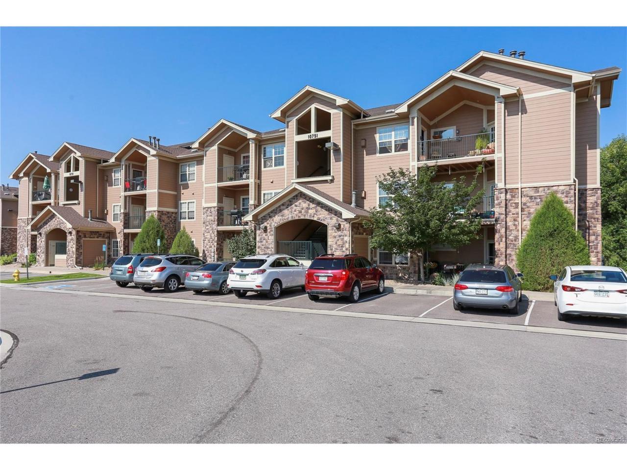 10751 S Twenty Mile Road #106, Parker, CO 80134 (MLS #7627043) :: 8z Real Estate