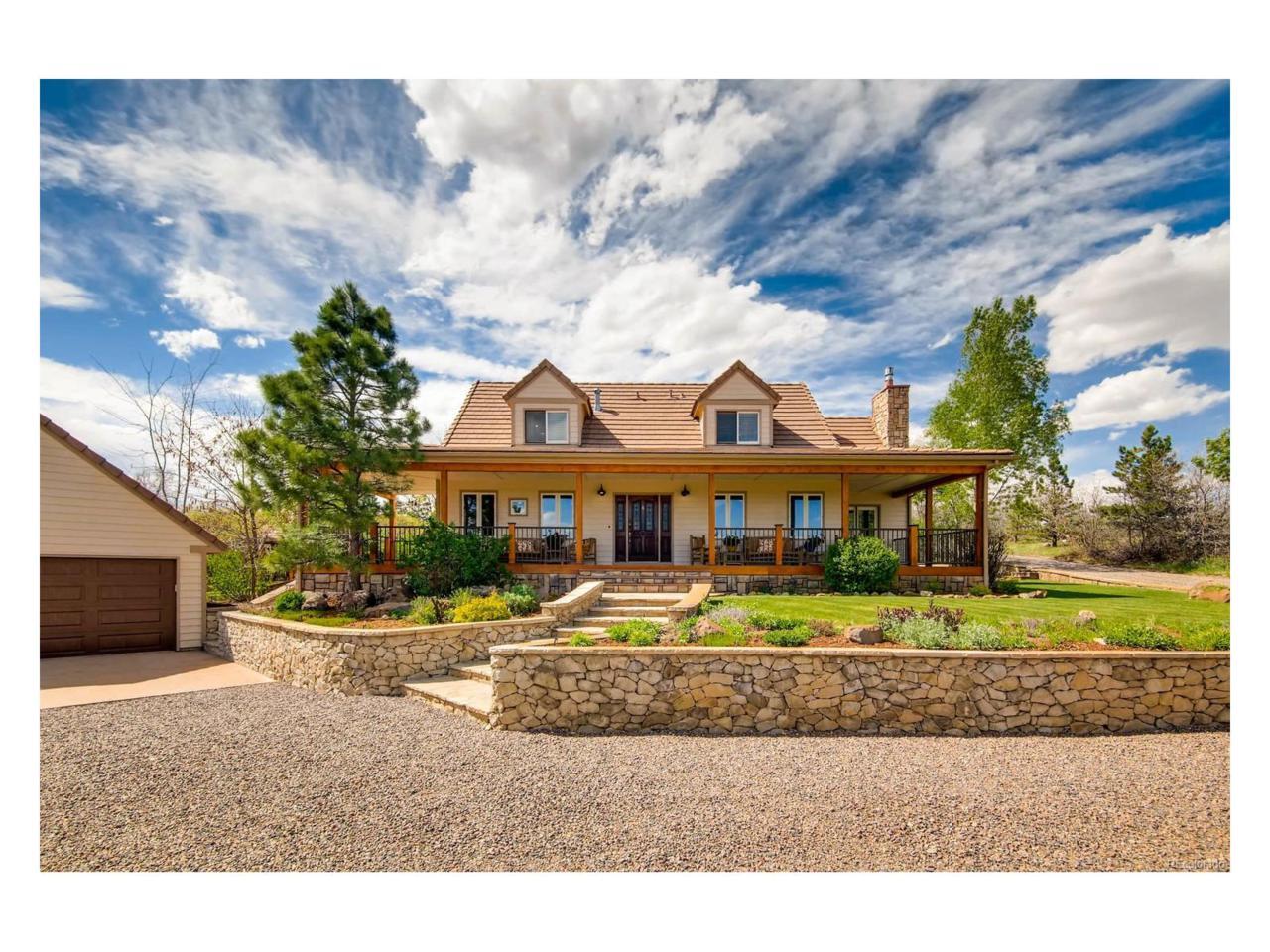 8250 N Pinewood Drive, Castle Rock, CO 80108 (MLS #7641913) :: 8z Real Estate