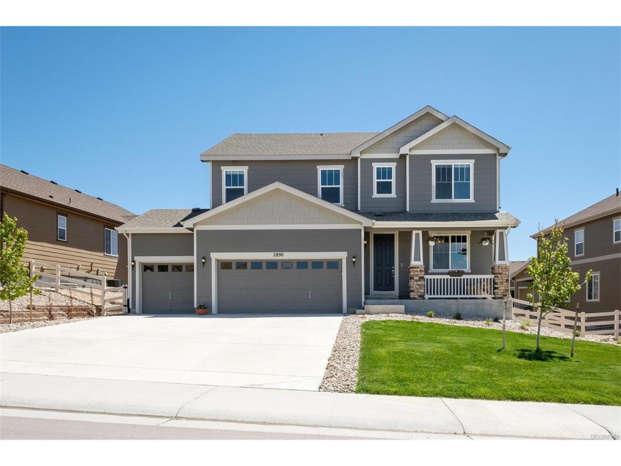 2890 Echo Park Drive, Castle Rock, CO 80104 (MLS #7642859) :: 8z Real Estate