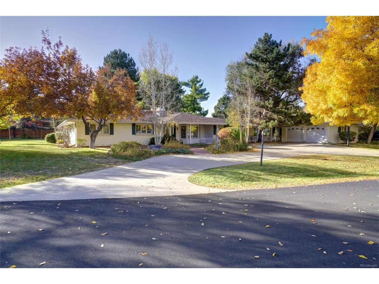 3131 Cherryridge Road, Cherry Hills Village, CO 80113 (MLS #7701800) :: 8z Real Estate