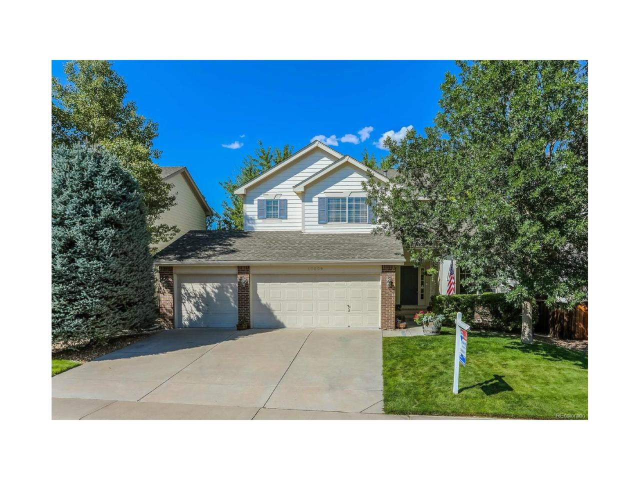 17059 Cornerstone Drive, Parker, CO 80134 (MLS #7705502) :: 8z Real Estate