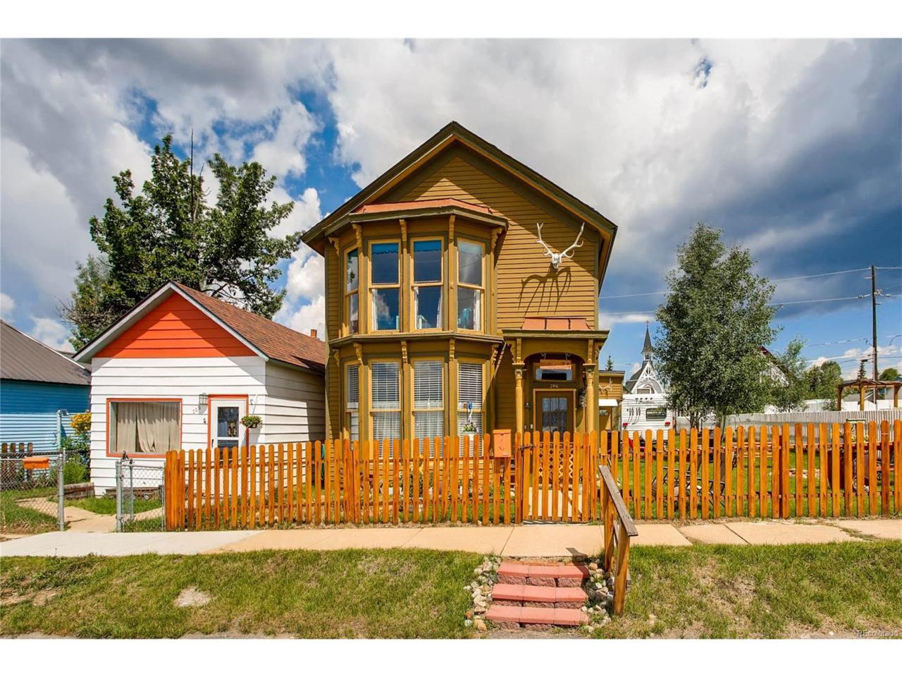 206 W 3rd Street, Leadville, CO 80461 (MLS #7717216) :: 8z Real Estate