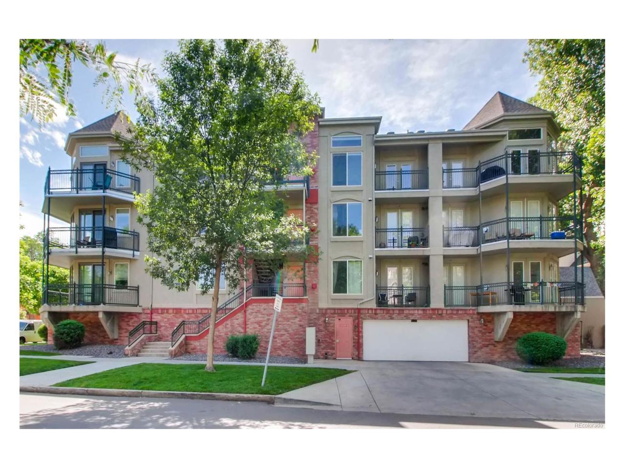 1705 Gaylord Street #201, Denver, CO 80206 (MLS #7798737) :: 8z Real Estate