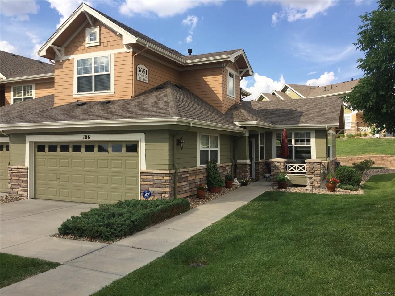 3651 S Perth Circle #106, Aurora, CO 80013 (MLS #7828477) :: 8z Real Estate