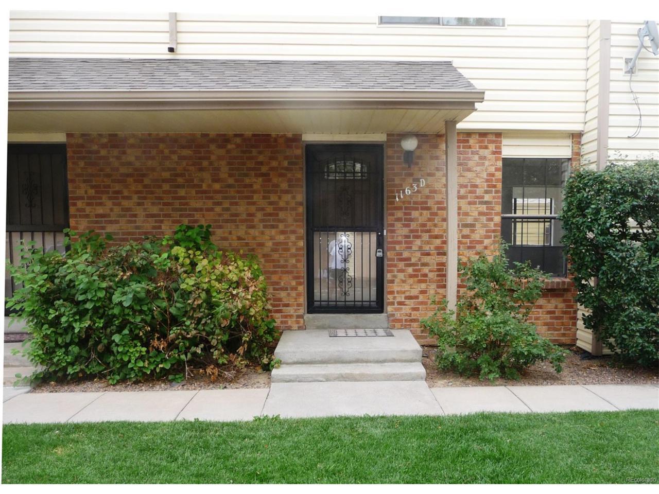 1163 S Sable Boulevard D, Aurora, CO 80012 (MLS #7847960) :: 8z Real Estate