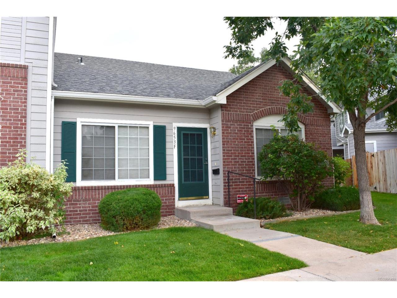 9653 W Chatfield Avenue F, Littleton, CO 80128 (MLS #7880771) :: 8z Real Estate
