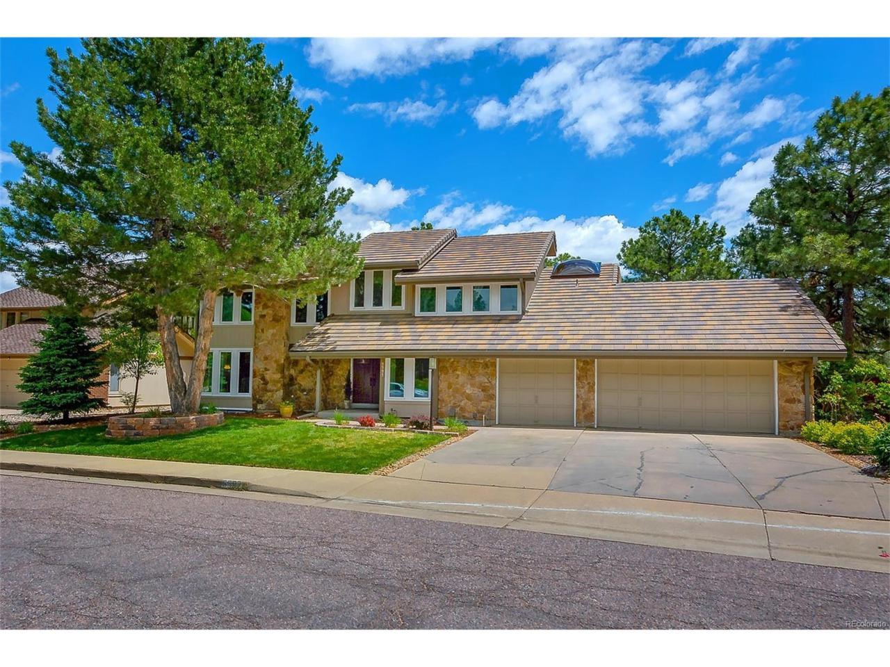 5597 E Links Circle, Centennial, CO 80122 (MLS #8050569) :: 8z Real Estate