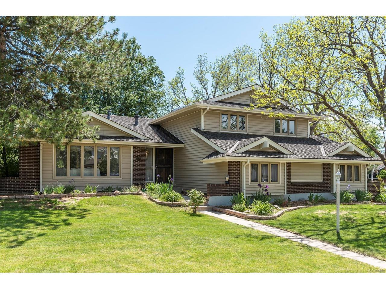 6296 S Hudson Court, Centennial, CO 80121 (MLS #8091565) :: 8z Real Estate