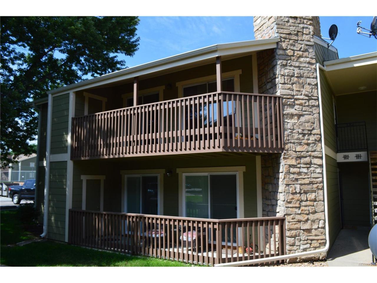 3450 S Eagle Street #204, Aurora, CO 80014 (MLS #8112918) :: 8z Real Estate