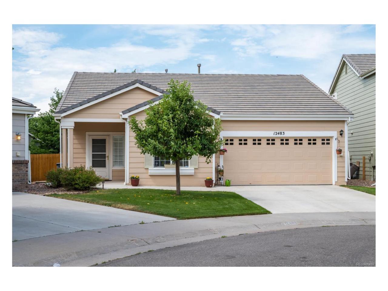 12483 S Bellisario Creek Court, Parker, CO 80134 (MLS #8390563) :: 8z Real Estate