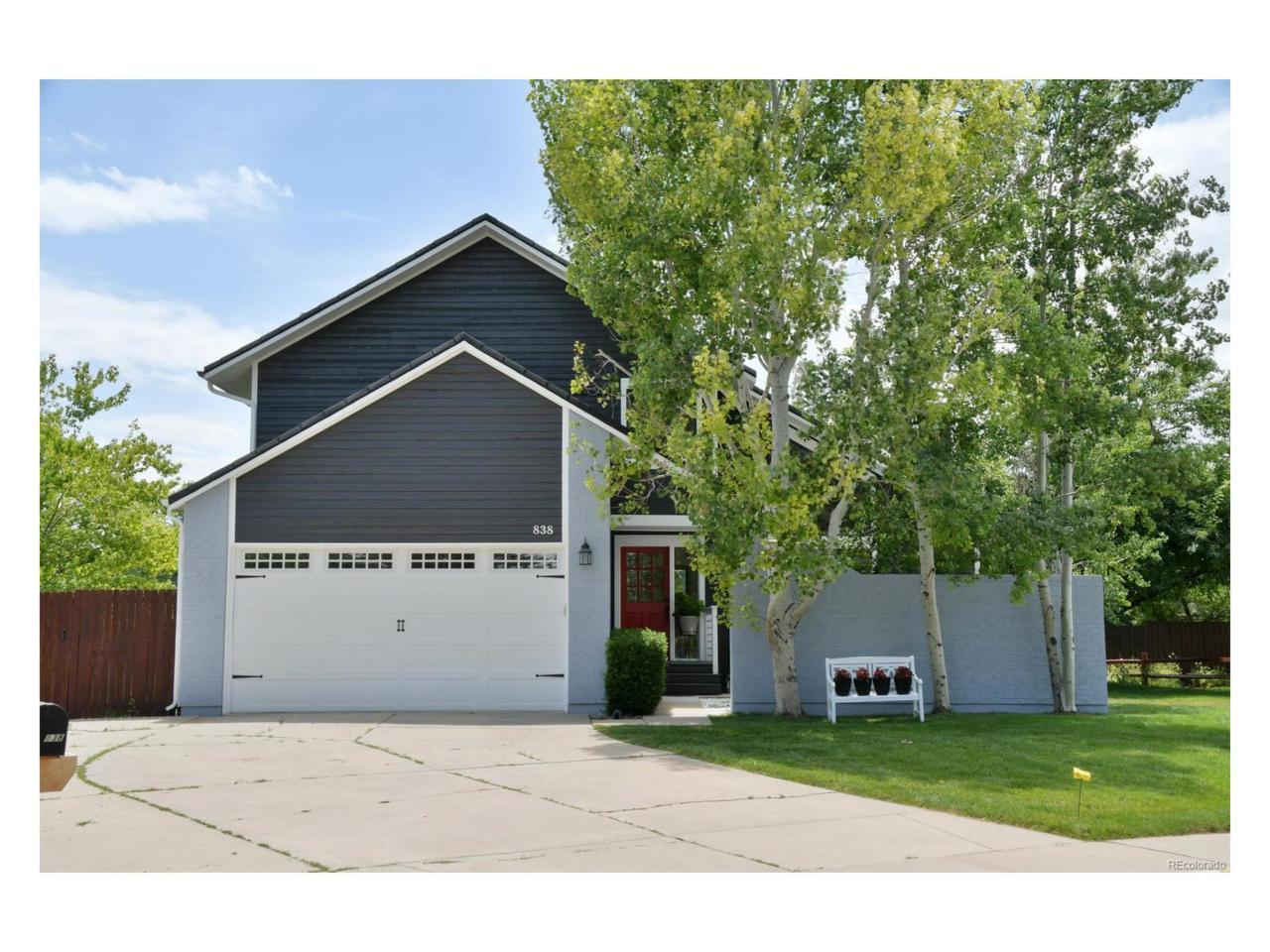 838 W Tamarisk Street, Louisville, CO 80027 (MLS #8458456) :: 8z Real Estate