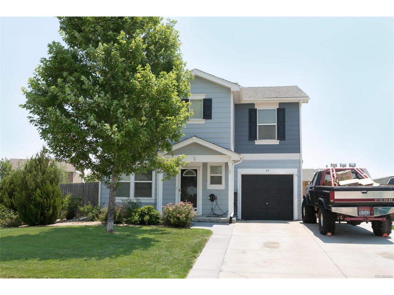 35 Shenandoah Way, Lochbuie, CO 80603 (MLS #8486484) :: 8z Real Estate
