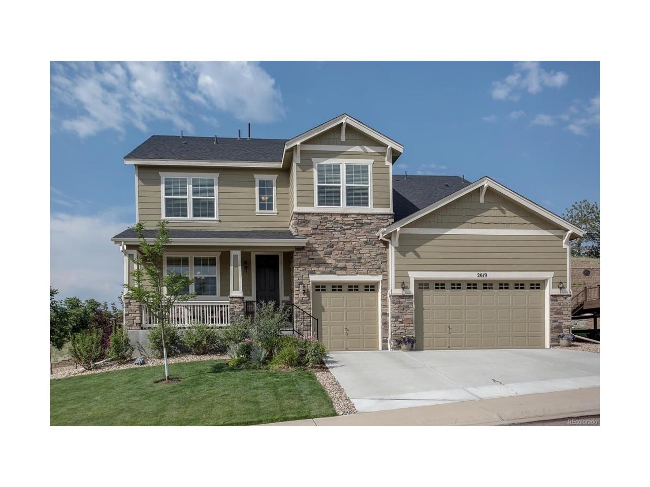 2619 Dublin Drive, Castle Rock, CO 80104 (MLS #8524215) :: 8z Real Estate