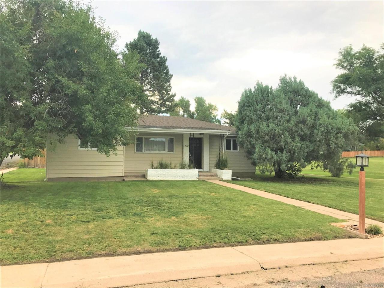 790 Hillcrest Drive, Limon, CO 80828 (MLS #8605097) :: 8z Real Estate