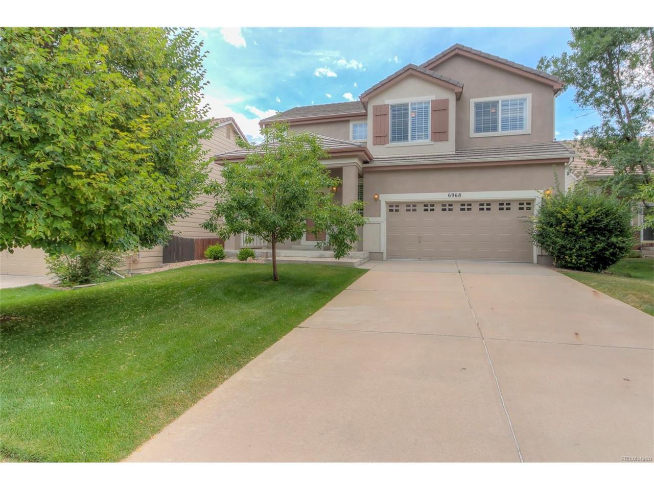 6968 W Chatfield Place, Littleton, CO 80128 (MLS #8678142) :: 8z Real Estate