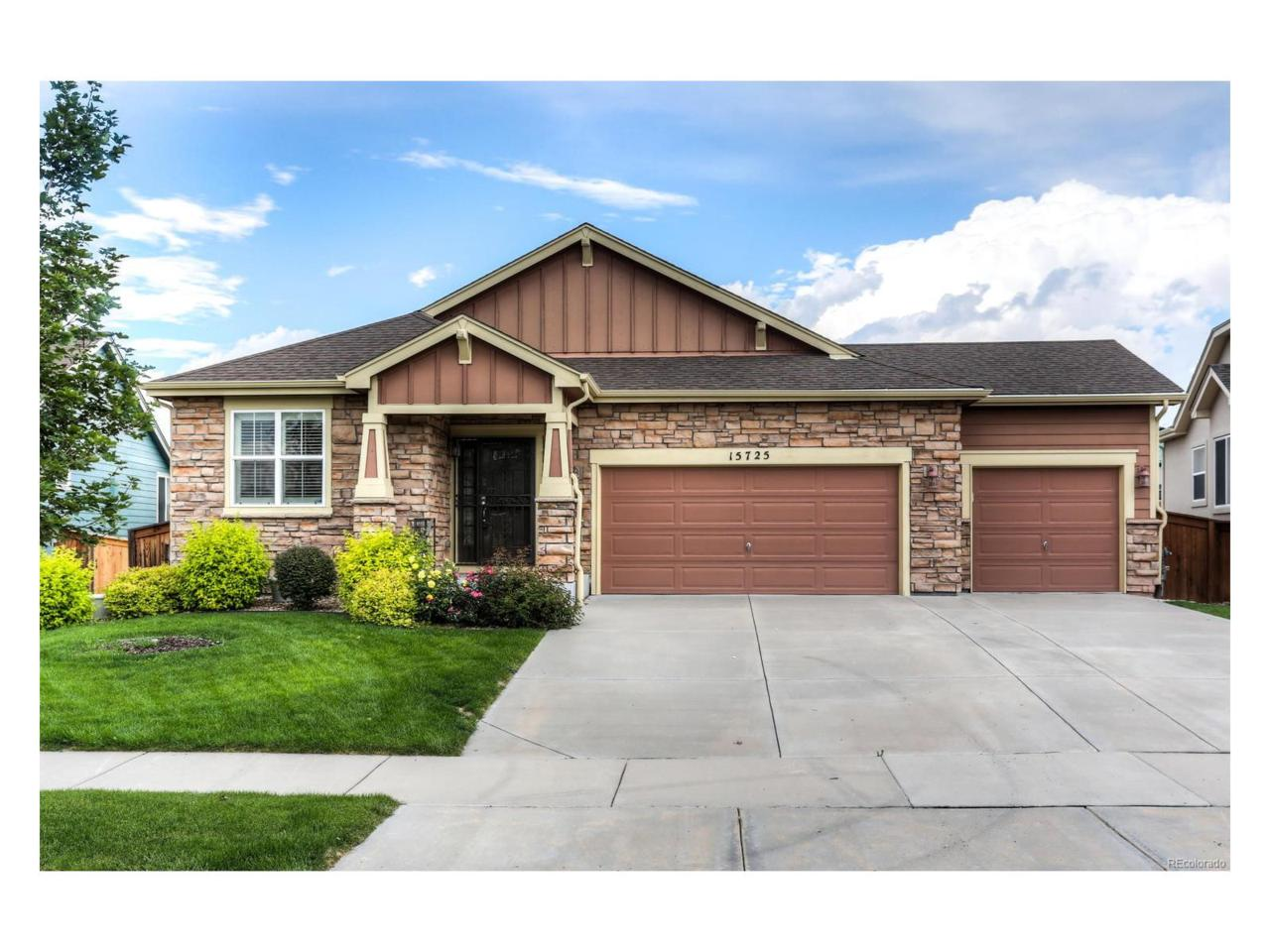 15725 Carob Circle, Parker, CO 80134 (MLS #8681072) :: 8z Real Estate