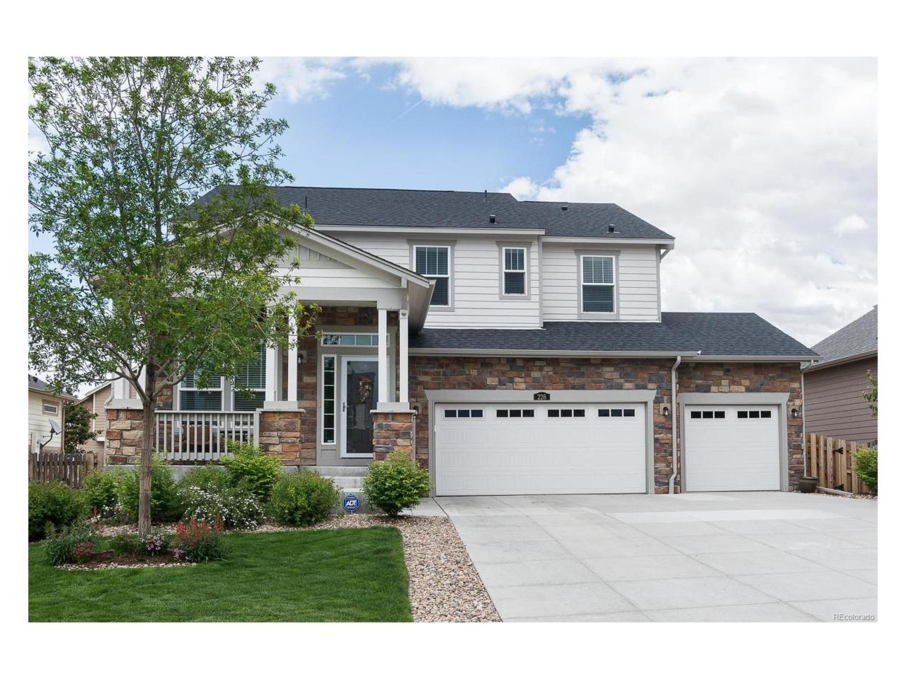 226 N Millbrook Street, Aurora, CO 80018 (MLS #8768628) :: 8z Real Estate