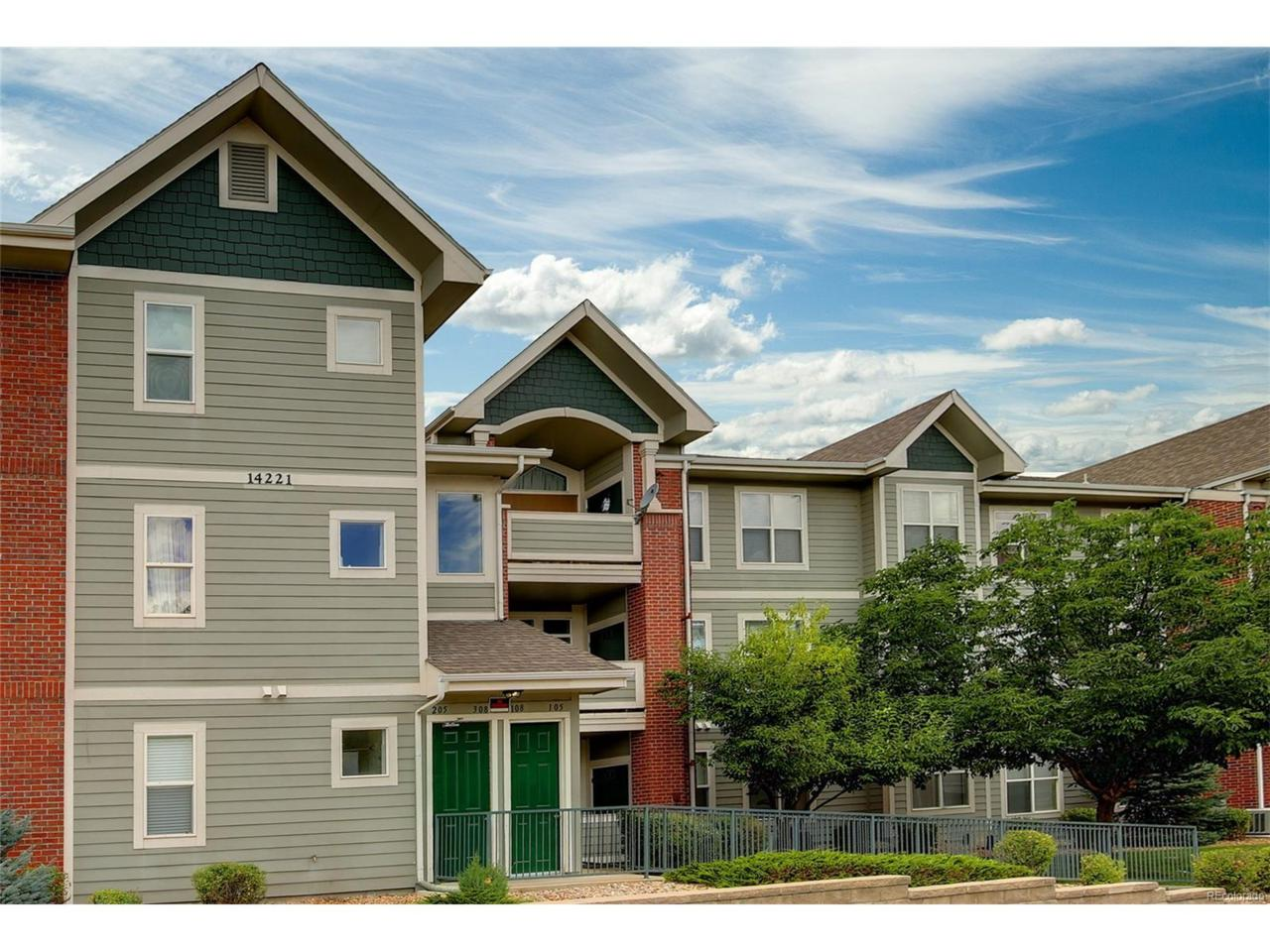 14221 E 1st Drive #306, Aurora, CO 80011 (MLS #8774557) :: 8z Real Estate