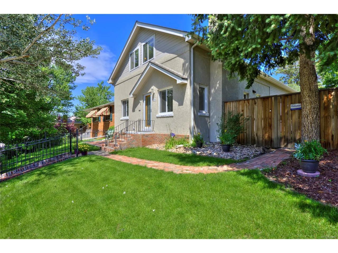1206 S Ogden Street, Denver, CO 80210 (MLS #8780262) :: 8z Real Estate