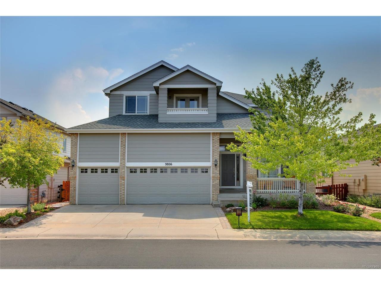 9806 S Crystal Lake Drive, Littleton, CO 80125 (MLS #8862693) :: 8z Real Estate