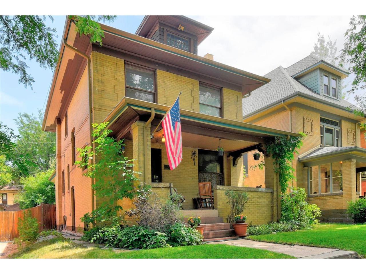 1334 Milwaukee Street, Denver, CO 80206 (MLS #8886100) :: 8z Real Estate