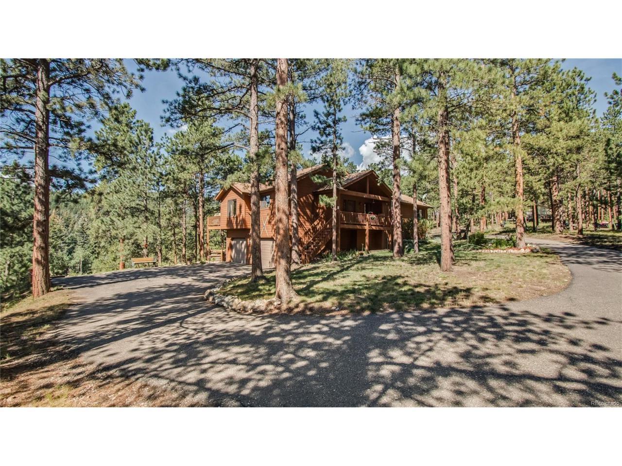 27900 Hidden Trail, Conifer, CO 80433 (MLS #8913455) :: 8z Real Estate