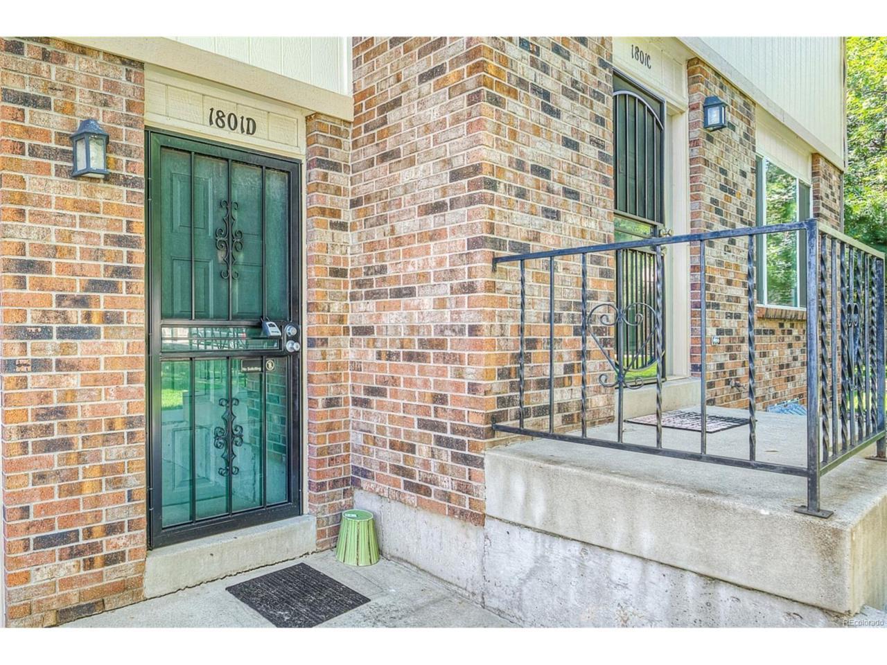 1801 S Allison Street D, Lakewood, CO 80232 (MLS #8933759) :: 8z Real Estate