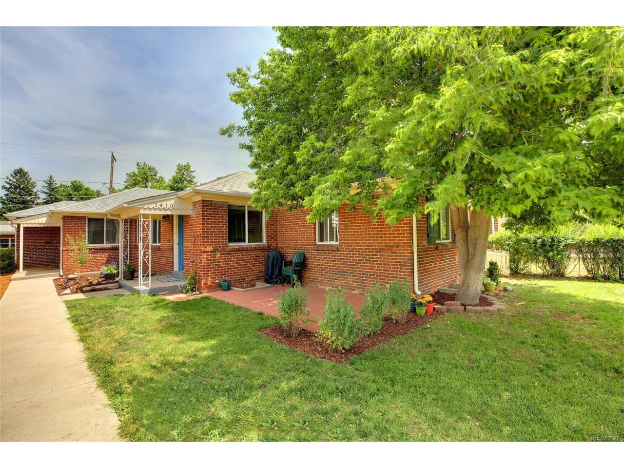 1410 Spruce Street, Denver, CO 80220 (MLS #8937224) :: 8z Real Estate