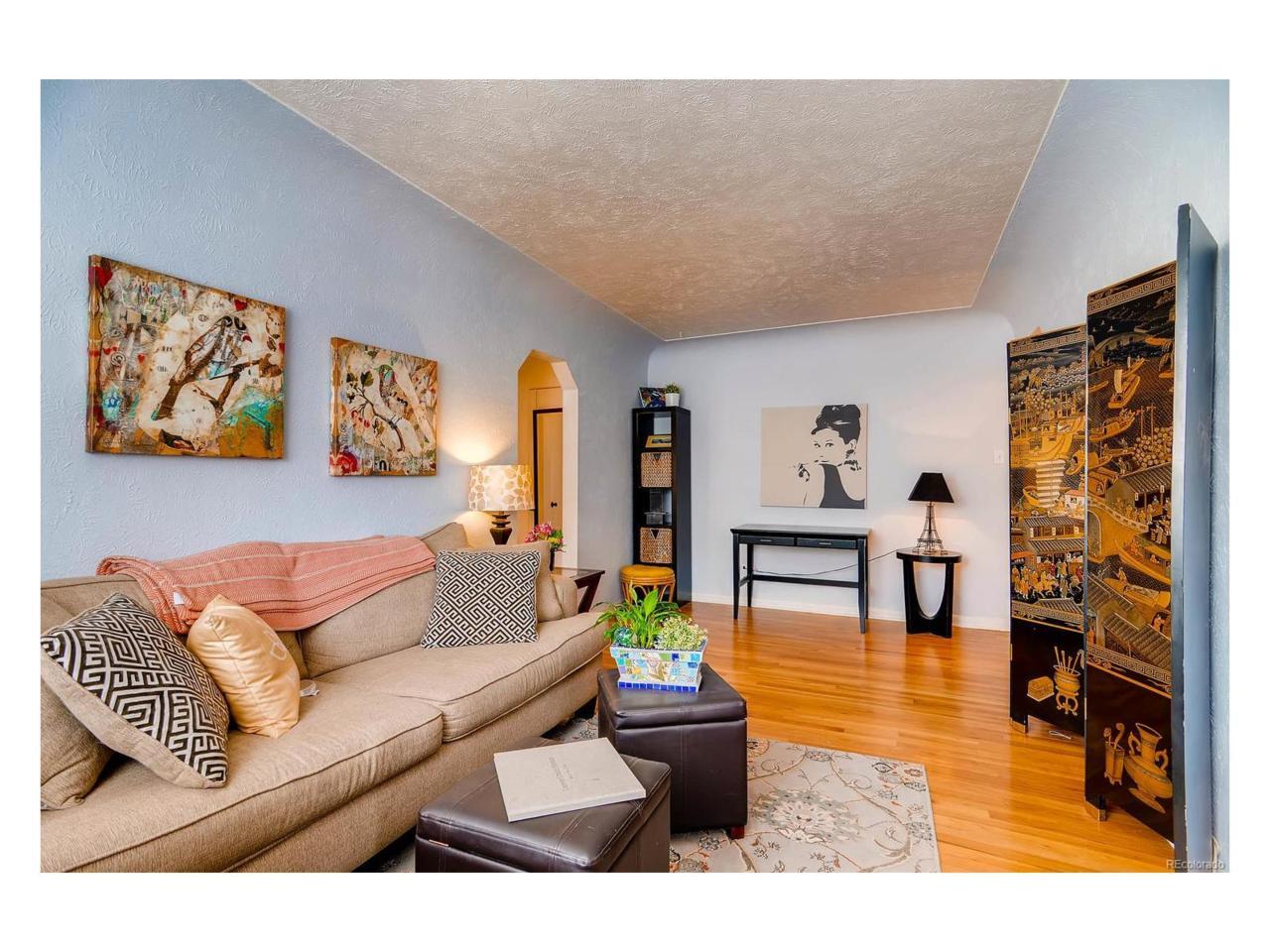 1130 N Pennsylvania Street #206, Denver, CO 80203 (#8978718) :: The Peak Properties Group