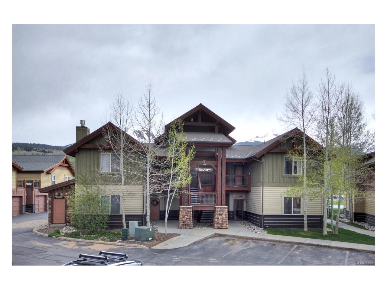 844 Blue River Parkway B5, Silverthorne, CO 80498 (MLS #8996709) :: 8z Real Estate