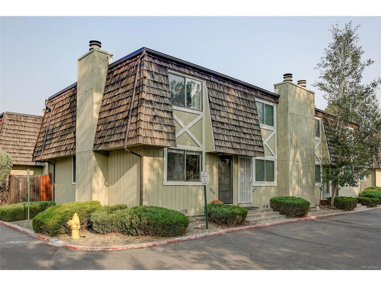 8113 W 54th Place #8, Arvada, CO 80002 (MLS #9275572) :: 8z Real Estate