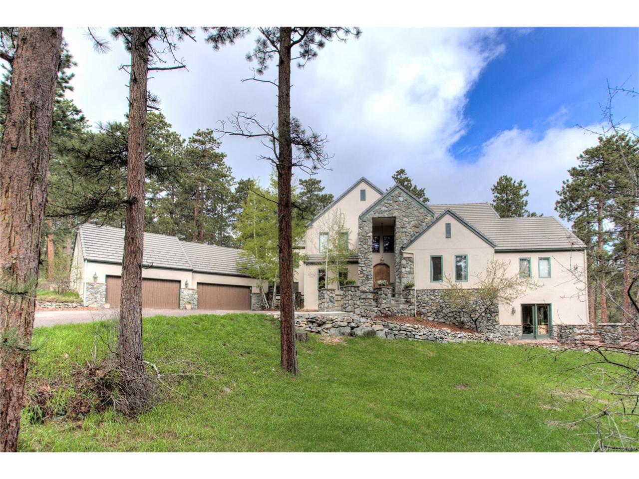 34166 Little Berry Trail, Evergreen, CO 80439 (MLS #9349373) :: 8z Real Estate