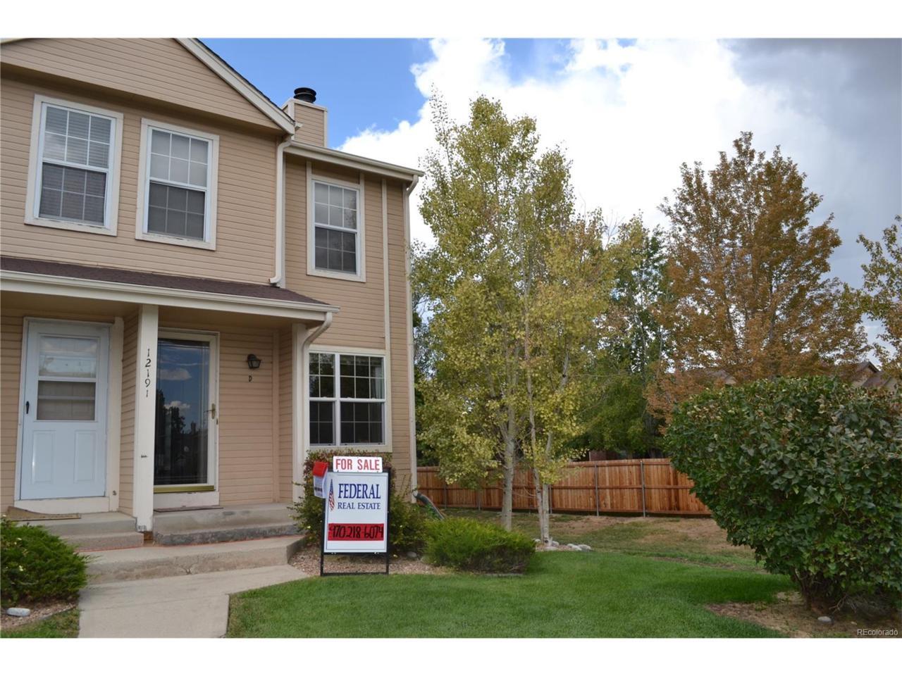 12191 Bannock Street D, Westminster, CO 80234 (MLS #9376186) :: 8z Real Estate