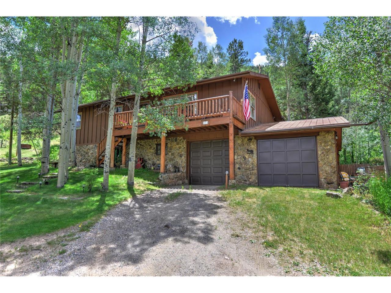 171 Buckskin Trail, Idaho Springs, CO 80452 (MLS #9398836) :: 8z Real Estate