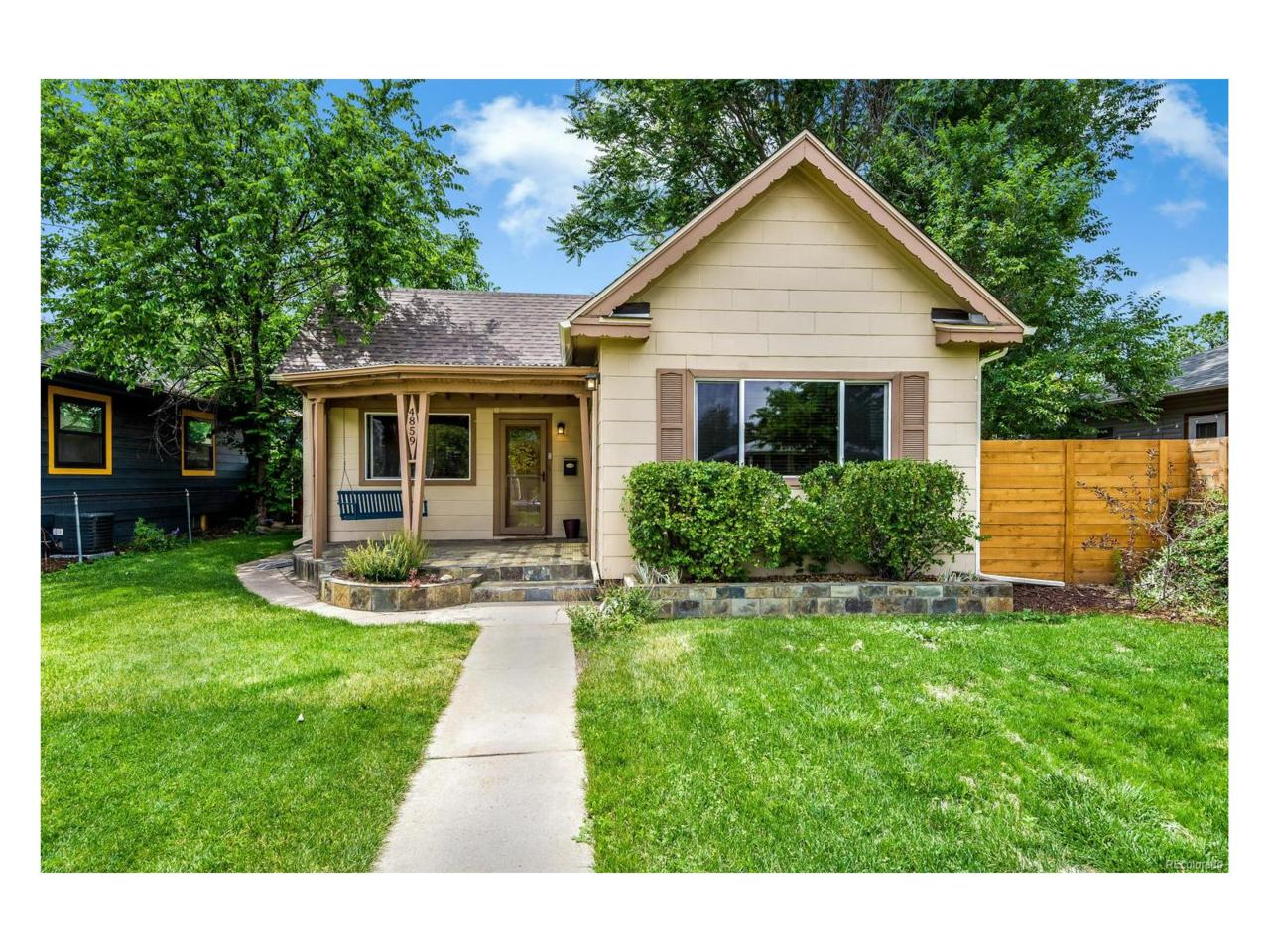 4859 Raleigh Street, Denver, CO 80212 (MLS #9429401) :: 8z Real Estate