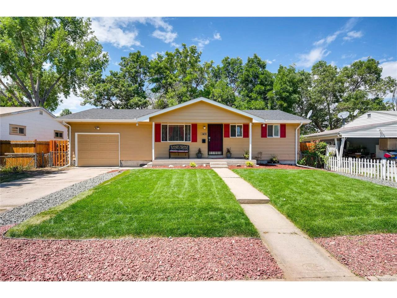 1431 S Newton Street, Denver, CO 80219 (MLS #9458126) :: 8z Real Estate