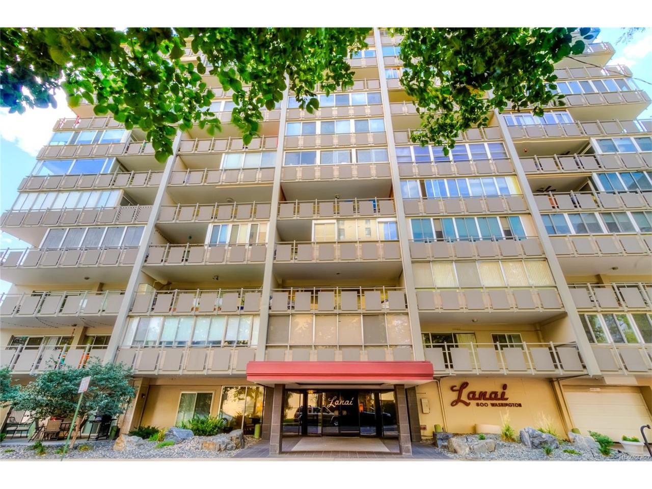 800 Washington Street #1105, Denver, CO 80203 (MLS #9459602) :: 8z Real Estate
