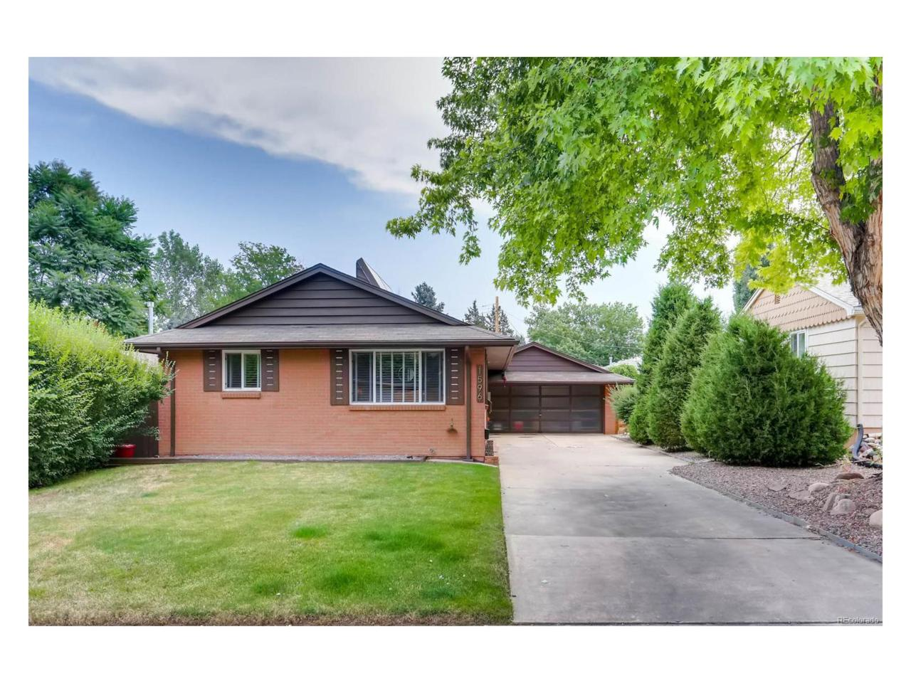 1596 S Grape Street, Denver, CO 80222 (MLS #9482548) :: 8z Real Estate