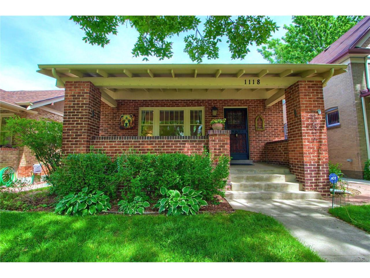1118 Fillmore Street, Denver, CO 80206 (MLS #9490887) :: 8z Real Estate