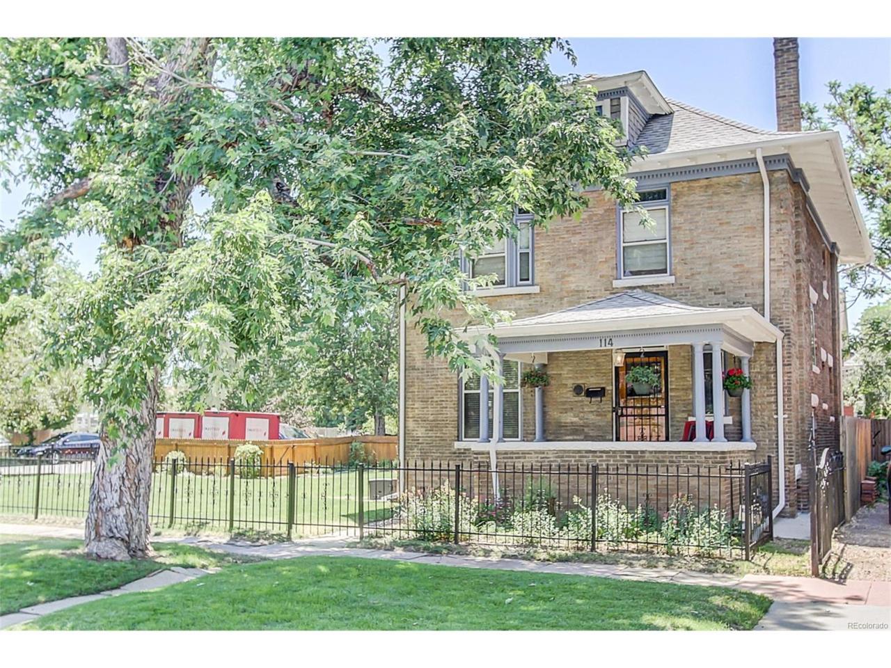 114 W 3rd Avenue, Denver, CO 80223 (MLS #9510806) :: 8z Real Estate