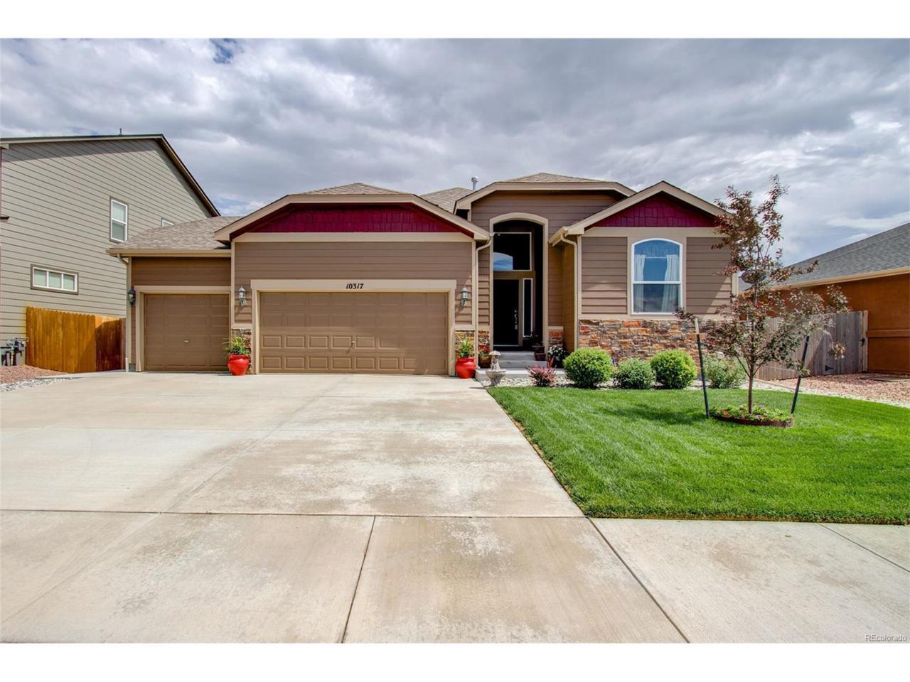10317 Declaration Drive, Colorado Springs, CO 80925 (MLS #9553910) :: 8z Real Estate