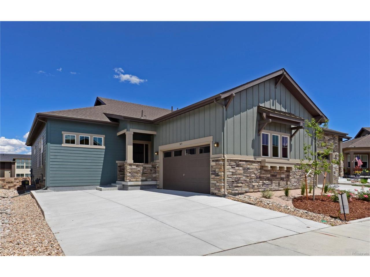 3471 New Haven Circle, Castle Rock, CO 80109 (MLS #9598765) :: 8z Real Estate
